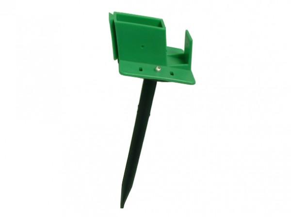 Quick-Norm F - Fußteil mit Spiess grün