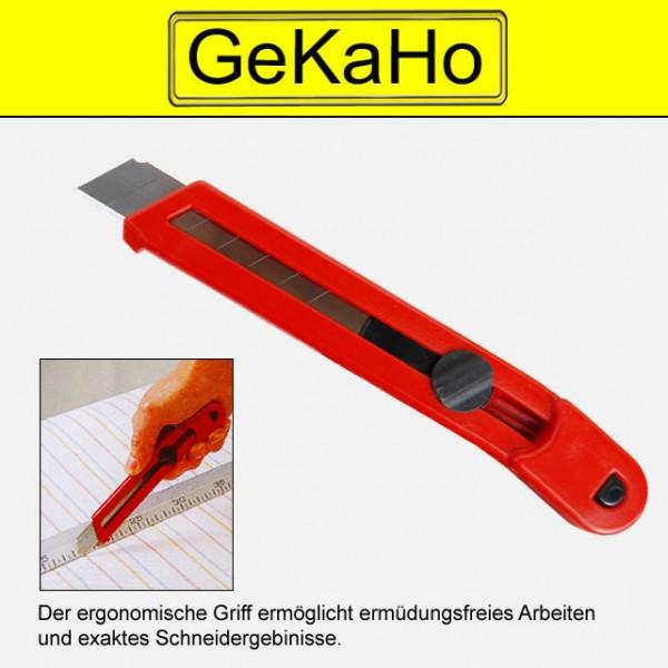Cuttermesser 18mm, rot