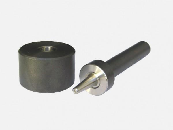 Öseneinschlag Werkzeug rund