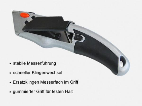 Cuttermesser Meister 2000 aus Zinkdruckguss