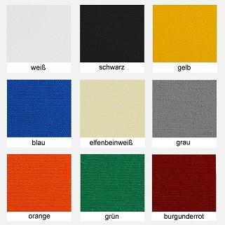 Polyesterstoff, Markisenstoff Farben