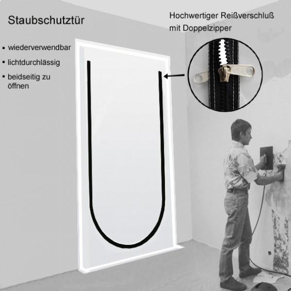 """Staubschutztüre für Maler """"Staubi 1"""""""