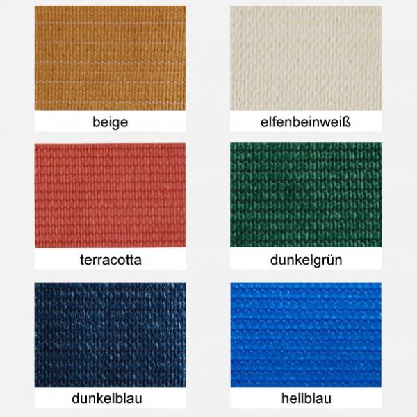 Sonnensegel-Material-Farben