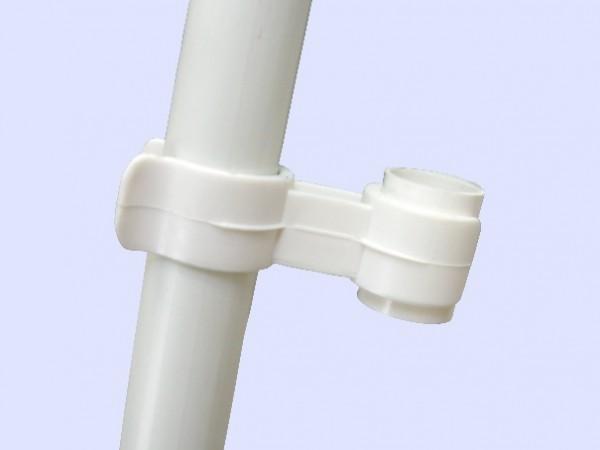 Clip zur Befestigung einer 2. Folie - Anwendung