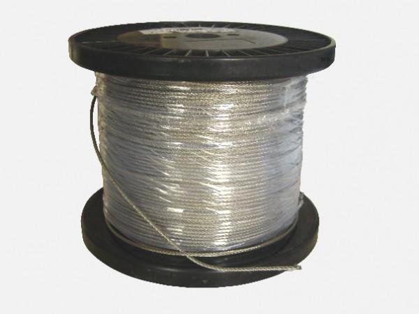 Edelstahlseil - Stahlseil nach Maß - Meterware