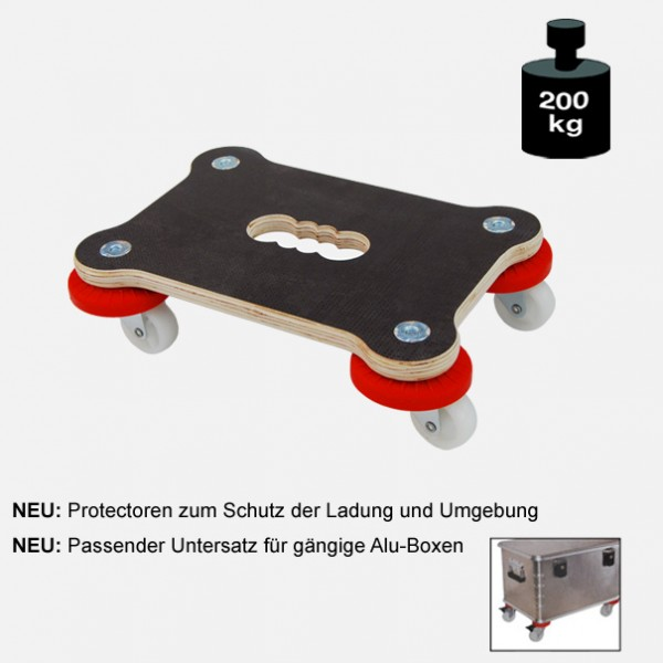 "Multimobil: Transporthilfe, Möbelhund, Rollwagen, ""Maxi Grip Protector"" Größe: ca. 23 x 33 cm"