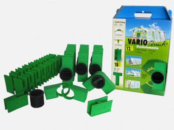 Varioquick - 30-er- Pack Steckelemente grün
