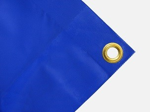 LKW Plane blau