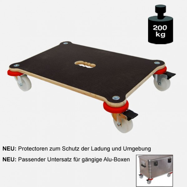 "Multimobil: Transporthilfe, Möbelhund, Rollwagen, ""Maxi Grip Protector"" Größe: ca. 40 x 60 cm"