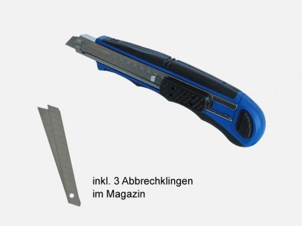 Cuttermesser, klein, blau