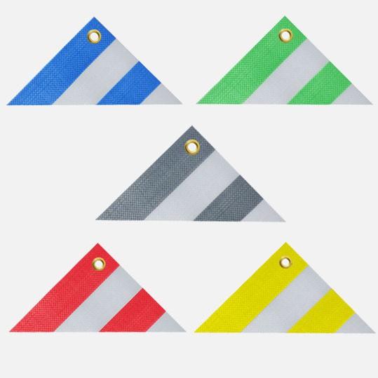 Gestreifte Abdeckplane Farben