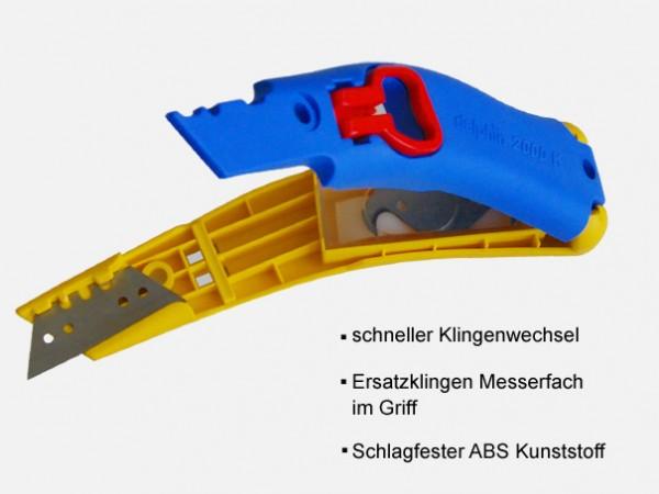 """Cuttermesser-Set """"Delphin"""" 2000 K, + 12 Klingen offen"""