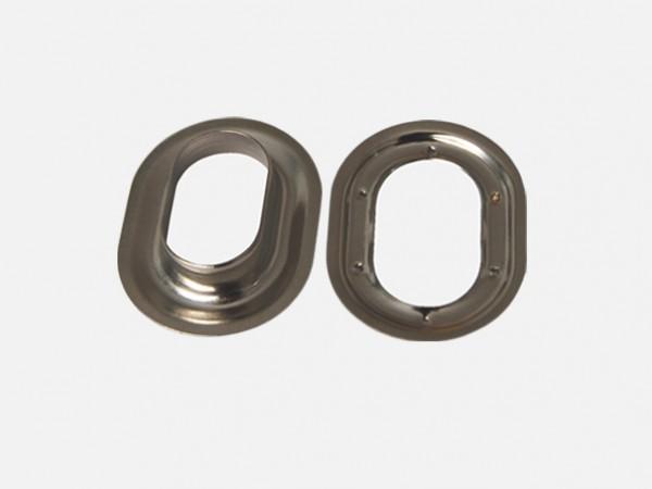 Oval-Öse silber 22 x 13 mm