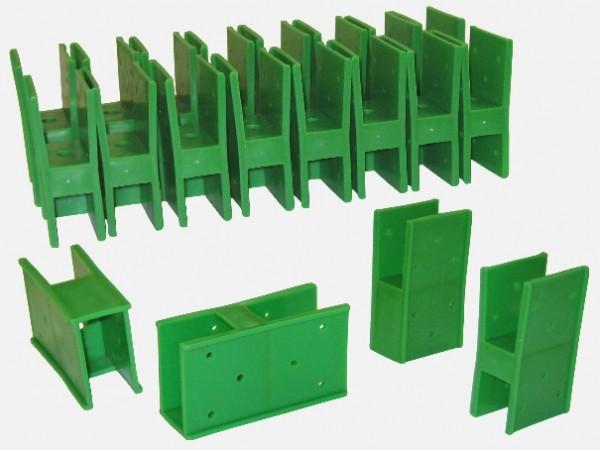 Quick-Norm E - 20 Steckelemente grün