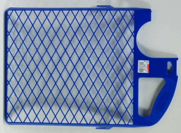 Abstreifgitter blau